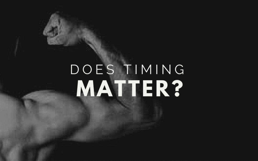 Nutrient Timing  y ejercicio de fuerza